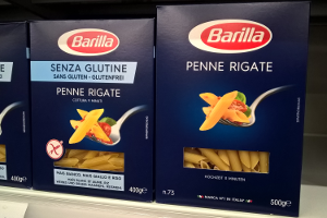 Vergleich klassische Nudeln mit glutenfreien Nudeln